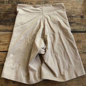SPANX Intimates & Sleepwear - Assets Stacy Blakely Medium Nude Spanx Shorts